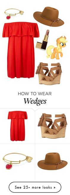 """Untitled #367"" by ashlynnmay on Polyvore featuring Rhythm., UGG, Alex and Ani and Tom Ford"