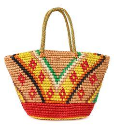センシ スタジオ/Sensi Studio - Tribal Maxi Bag-MULTI COLOUR(バッグ/bag)   RESTIR リステア