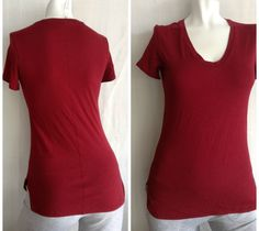 NEW Lululemon Circadian Tee Heathered Cranberry Short Sleeve, $58, pima cotton.   Heard this runs small, sz 10 probably better, but found in an 8.  8 fits well as I've lost weight.