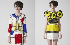 Mode of kunst? De pop-art jurkjes van The Rodnik Band