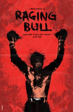 Raging Bull (1980) artwork poster