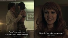 Nikki Swango: You've made me the happiest woman ever. Now, let's make a sex tape.  http://fargoquotes.blogspot.com/2017/06/youve-made-me-happiest-woman-ever-now.html #Fargo #FargoFX #NikkiSwango