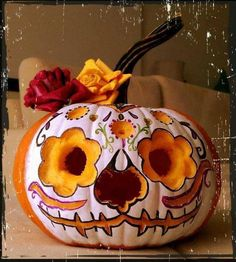 Halloween / Day of the Dead Pumpkin