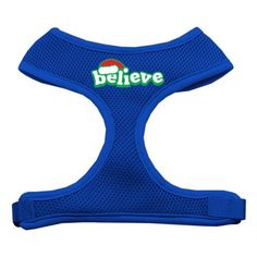 Mirage Believe Screen Print Soft Mesh Harnesses Blue Small *** For more information, visit now : Cat Collar, Harness and Leash