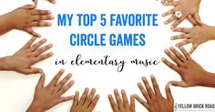 3 Elementary Music Games to Play Outside | The Yellow Brick Road