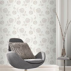 52 Wallpapers Merry Tune Ideas With Floral Wallpaper Pattern Floral Pattern Wallpaper, Free Desktop Wallpaper, Home Trends, English Style, Designer Wallpaper, Retro, Bean Bag Chair, Minimalism, Accent Chairs