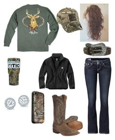 """""""Twelve-Point Buck """" by babyinblue on Polyvore featuring True Religion, Vineyard Vines, M&F Western, Carhartt, LifeProof and Realtree"""