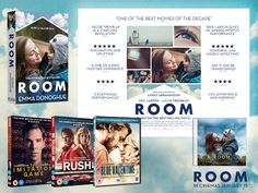 ROOM is the new film based on the best selling novem by Emma Donoghue. See what I thought of the film and enter my giveaway to win a fantastic prize bundle. New Movies, Good Movies, Room Emma Donoghue, Best Selling Novels, Life Affirming, Film Base, The Power Of Love, Riveting