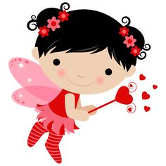 Valentines Day Drawing, Happy Valentines Day, Fairy Clipart, Clip Art, Foam Crafts, Cute Images, Cute Illustration, Art Forms, Hello Kitty