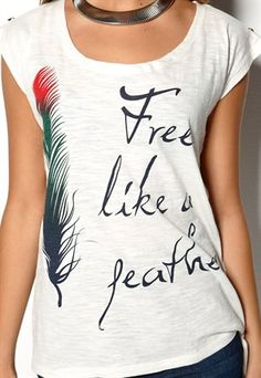 I would so wear this as a tee....And what a cute tattoo idea!