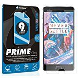 2 x Membrane OnePlus 3 Tempered Glass Screen Protector Cover Guard - [9H, 0.3mm Ultra Clear HD]