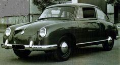 OG | 1952 Volkswagen / VW Project EA41 | Prototype ordered to Pininfarina