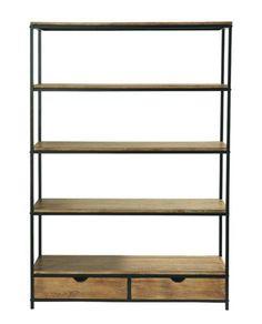 Bristol Iron & Fir Wood Bookcase – Allissias Attic & Vintage French Style