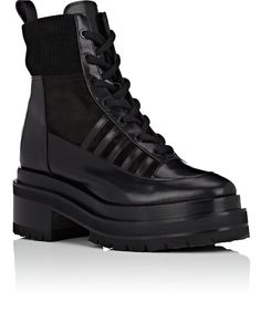 Platform Ankle Boots, Pierre Hardy, Trendy Shoes, Nevada, All Black Sneakers, Kicks, Leather, Women, Fashion