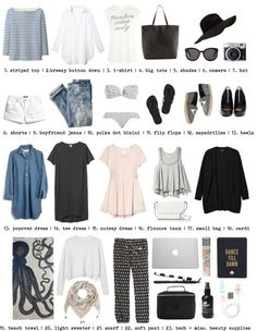What to Pack: 2 Weeks in San Diego