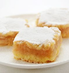 Apple Pie Bars (Croatian Pita) - crumbly butter dough with cinnamon apple filling (Kitchen Nostalgia) Pita Recipes, Apple Recipes, Sweet Recipes, Cake Recipes, Dessert Recipes, Cooking Recipes, Holiday Recipes, Cooking Tips, Apple Desserts