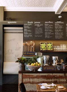 BLOOM CAFE MOSMAN | Hare & Klein #menu #blackboard