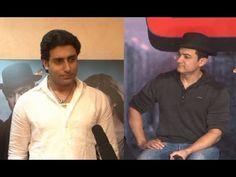 Abhishek Bachchan's view on Aamir Khan's acting in DHOOM 3.