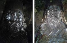 Ήταν καιρός που ένιωθα να βαραίνει στους ώμους μου ο ίδιος χρόνος… Σα να μην περνούσε. Σα να τον είχα κουράσει και να με είχε κουράσει. Μ... Christian Faith, Painting, Greek, Painting Art, Paintings, Painted Canvas, Greece, Drawings