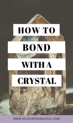 Crystal healing is more powerful and effective when using a crystal attuned to your energy. Check out this post for three easy ways to form a connection with a new crystal. How to bond with a crystal - healing crystal - universal vibes - crystals