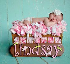 White Crystal Flower Newborn Baby Infant Headband Photo Prop