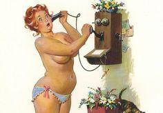 Não é de hoje que os padrões de beleza, de peso e corpo nos são impostos. Mesmo nos anos 1950, as pin-ups mais típicas eram magras, tipicamente belas e sempre posadas. Da mesma forma, porém, que haviam os padrões, existiam também as pessoas certas para desafia-los – e, no caso das pin-ups, seus corpos e poses, essa pessoa foi o ilustrador...