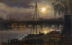 Johan Christian Clausen Dahl - Dresden bei Nacht, 1845.jpg