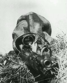 Waffen SS sniper.