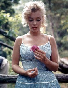 Marilyn Monroe. Natural beauty.