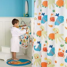 Merveilleux Kids Bathroom Sets Collections Design With Sea Animal