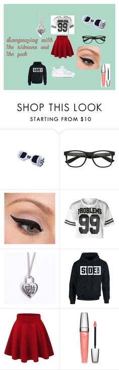 """""""Swegwaying with the sidemen and the pack"""" by shannangillanlovesthesidemen on Polyvore featuring CO, LORAC, Lancôme, NIKE, sidemen and thepack"""