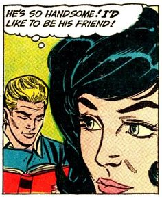 comicallyvintage:    Choose your friends the comically vintage way…