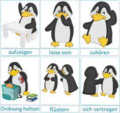 vor-der-einschulung - Pinguin-Klasse - DesignBlog