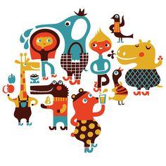 agh, i love hele dardik! #walldecal #kids #illustration