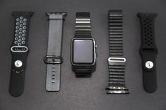 Best Apple Watch Straps: Top Black bands for your Apple Watch. All Apple Watch Straps available at SpartanWatches.com - Top Apple Watch Bands Store