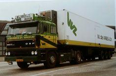DAF FT 2800 4X2 met koeloplegger van W. De Vries te Makkum Home Design, Big Trucks, Transportation, Buses, Vehicles, Vans, Europe, Trucks, Vintage School
