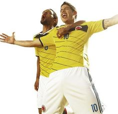 World Cup 2014 Colombia National Team Jerseys