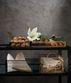 Aufbewahrungskorb aus Metall | Schwarz | Home | H&M DE