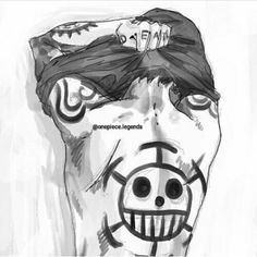 Trafalgar Law – One Piece. I'm not usually a fan of tattoo but his is just plain awesome. Trafalgar Law, Anime One Piece, Hot Guys, Hot Anime Guys, Monkey D Luffy, Law One Piece, Single Piece, Law Tattoo, Manga Anime