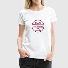végétarien / végétarienne / végétarisme / vegan Tee shirts