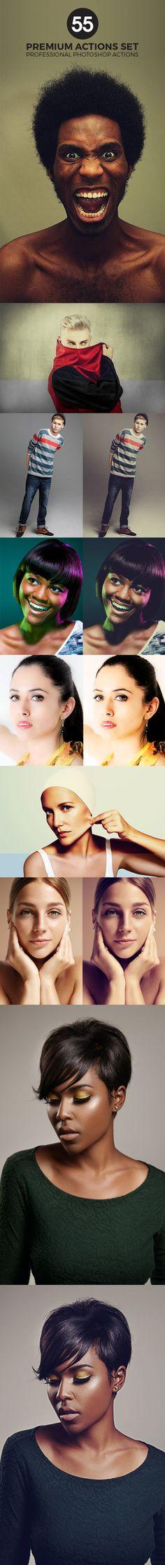 55 Premium Photoshop Actions Set #photoeffect Download: http://graphicriver.net/item/55-premium-photoshop-actions-set/14330928?ref=ksioks