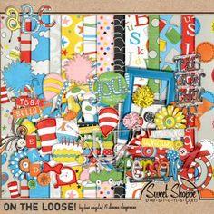 ISO Dr. Seuss - DigiShopTalk Digital Scrapbooking