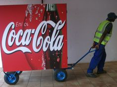 Unconventional Media Solutions, Branded Waste Cart. Read more:  http://www.africancleanenergy.com/unconventional-media-impacting-communities-and-communicating-for-the-greater-good/