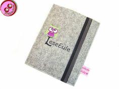 eReader+Hülle+LeseEule,+Merino+Wollfilz,+nach+Maß+von+artistalista+-+textile+Kostbarkeiten+auf+DaWanda.com