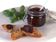 Sweet Basil and Blackberry Jam from FoodNetwork.com. I have been making this for the past year and my family and friends love it! Try using mixed berries.