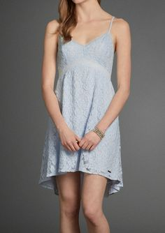 Maura Lace Baby Doll Dress