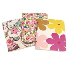 CAROLINE GARDNER set of three notebooks