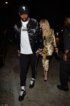 610265653dd Khloe Kardashian s night off mummy duty with beau Tristan Thompson