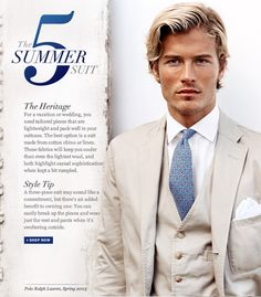 THE SUMMER SUIT