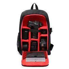 Upgraded DSLR Camera Bag